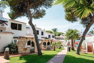 Contact and location of the Talayot Apartments Menorca