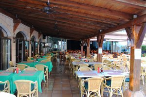 Bar & Restaurant of the Talayot Apartments, Cala'n Forcat, Menorca
